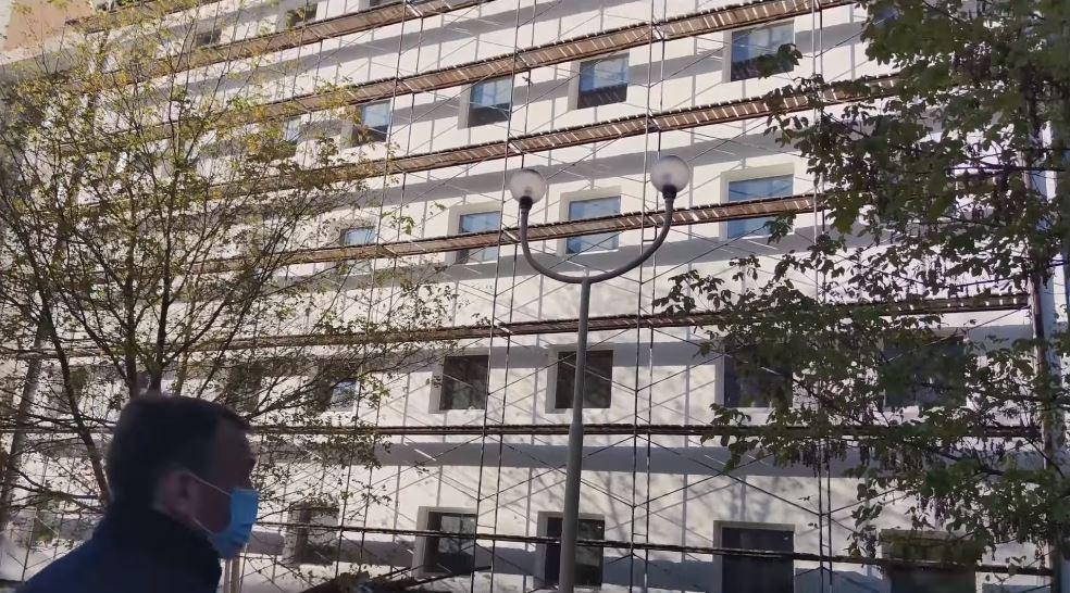 Закарпатська ОДА розірвала договір із недобросовісним підрядником, що виконував будівельні роботи у райлікарні в Берегові