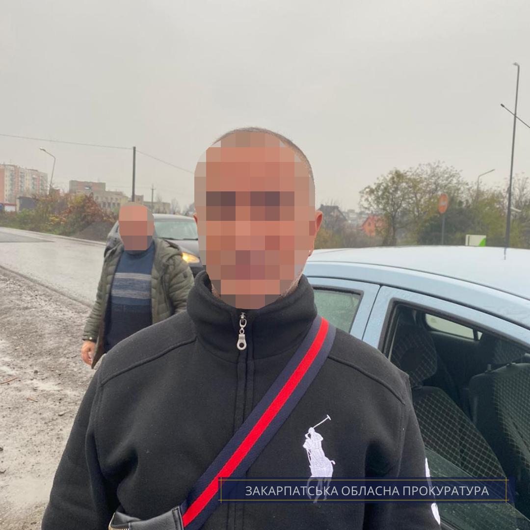 На Тячівщині турка взято під варту за підозрою у переправленні нелегалів через кордон