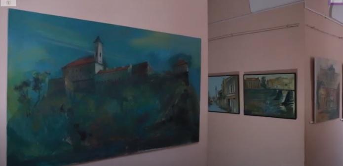 Роман Пилип презентував ретроспективну виставку в Ужгородському замку (ВІДЕО)