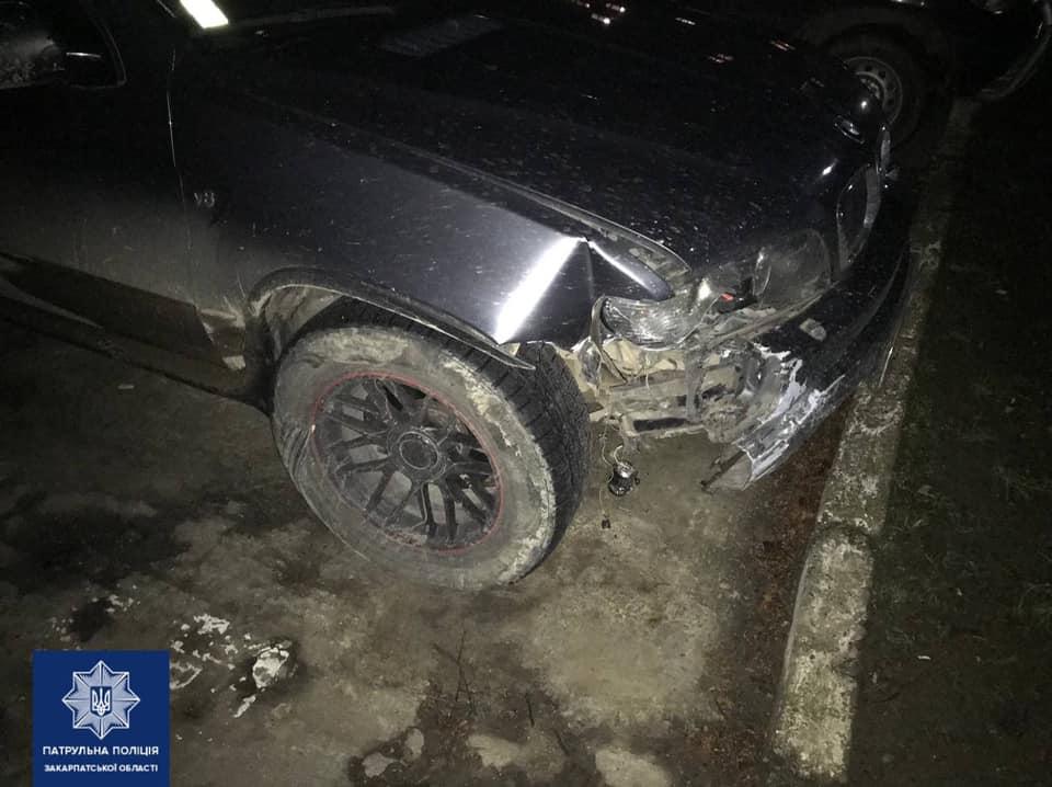 В Ужгороді втретє за рік затримали п'яного водія (ФОТО)
