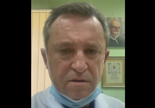 Головний лікар Закарпатської обллікарні звернувся до закарпатців через критичну ситуацію з коронавірусом